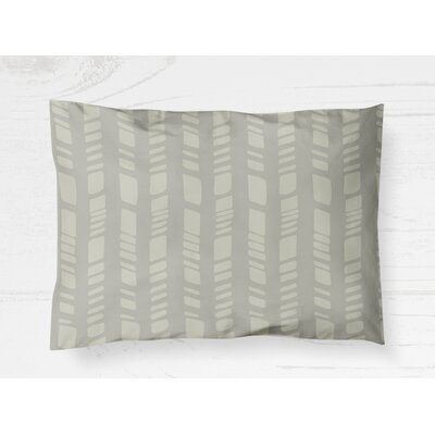 Nesler Pillow Cover Size: 20 H x 40 W, Color: Gray