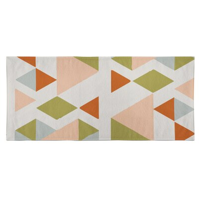 Hague Beach Towel Color: Pink/Multi