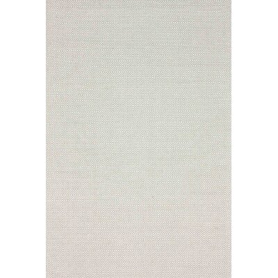 Asther Hand-Woven Taupe Area Rug Rug Size: 4 x 6