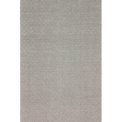 Burnette Hand-Woven Gray Area Rug Rug Size: Rectangle 5 x 8