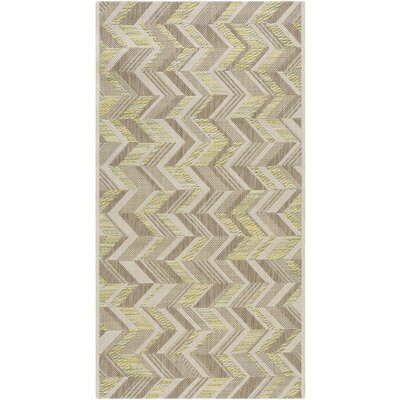 Farlough Brown/Neutral Indoor/Outdoor Area Rug Rug Size: Rectangle 311 x 57