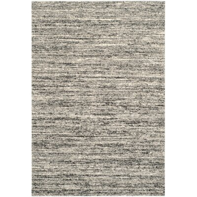 Thrush Ivory/Gray Area Rug Rug Size: Rectangle 26 x 4