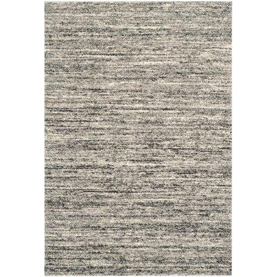 Thrush Ivory/Gray Area Rug Rug Size: 86 x 12
