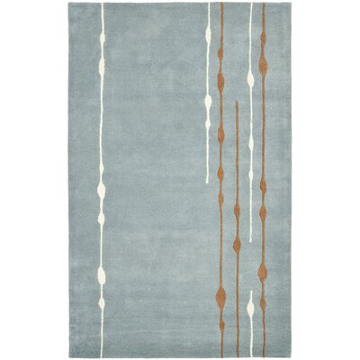 Sioux City Blue / Light Dark Multi Contemporary Rug Rug Size: 5' x 8'