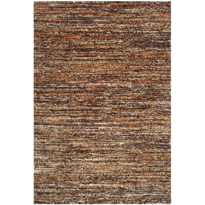 Gaines Ivory/Gold Area Rug Rug Size: Rectangle 5 x 8