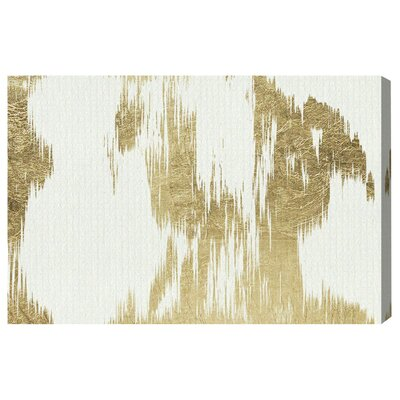 Contraste Graphic Art on Canvas