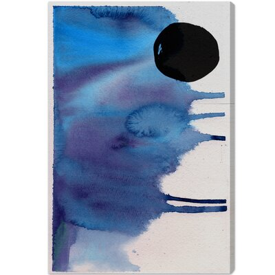 Hiver Painting Print on Wrapped Canvas