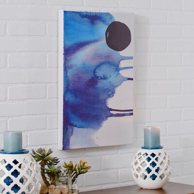 Hiver Painting Print on Wrapped Canvas Size: 30