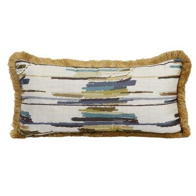 Donovan Jacquard Woven Lumbar Pillow