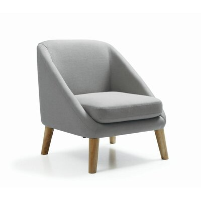 Stockton Single Arm Chair Color: Grey