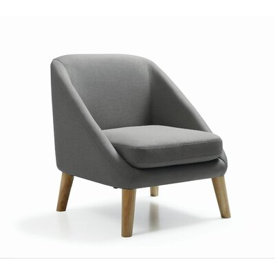 Stockton Single Armchair Upholstery: Charcoal