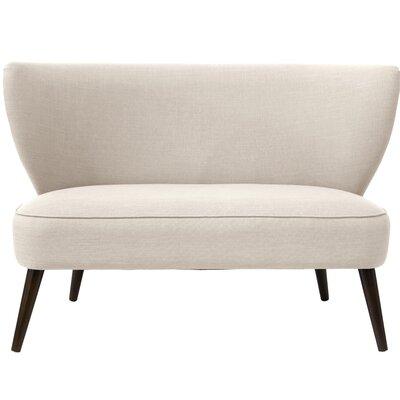 Bayonne Armless Settee Upholstery: Talc