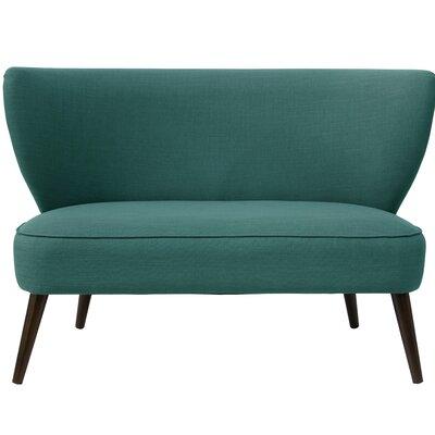 Bayonne Armless Settee Upholstery Color: Laguna