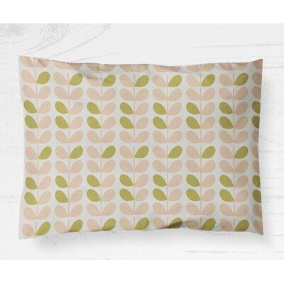 Guilderland Pillow Case Size: 20 H x 40 W, Color: Pink/Sage
