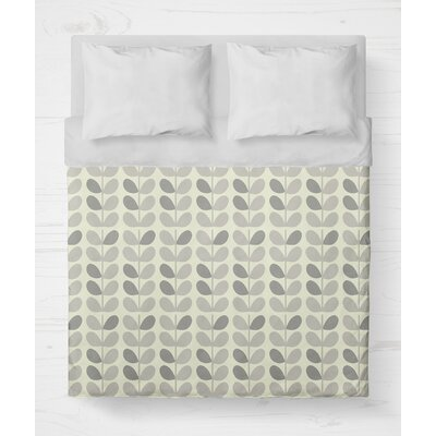 Guilderland Lightweight Duvet Cover Size: Twin, Color: Gray