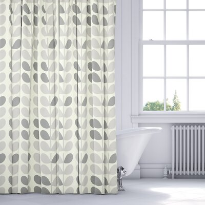 San Lorenzo Shower Curtain Color: Gray