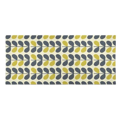 San Lorenzo Beach Towel Color: Blue/Yellow