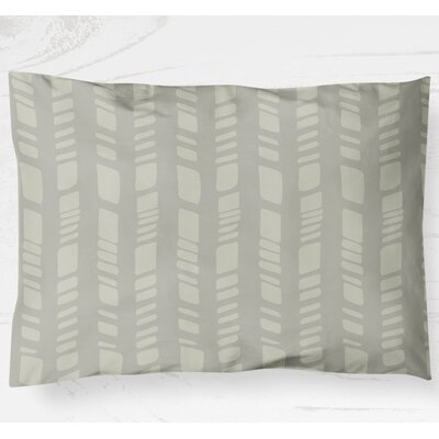Sahara Lightweight Sham Size: King, Color: Gray