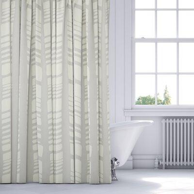 Sahara Shower Curtain Color: Gray