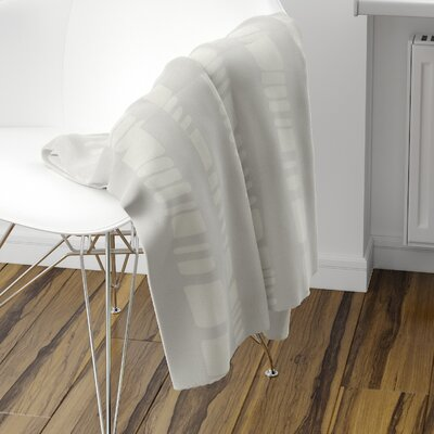 Sahara Fleece Blanket Size: 80 L x 60 W, Color: Gray