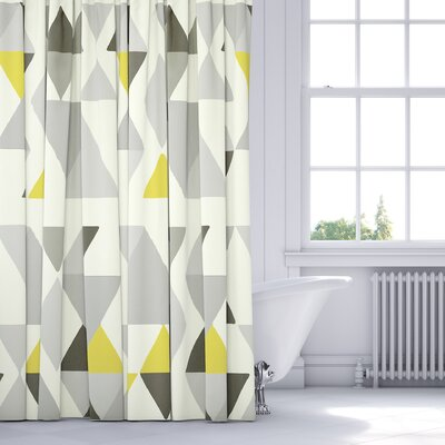 Hague Shower Curtain Color: Gray/Multi