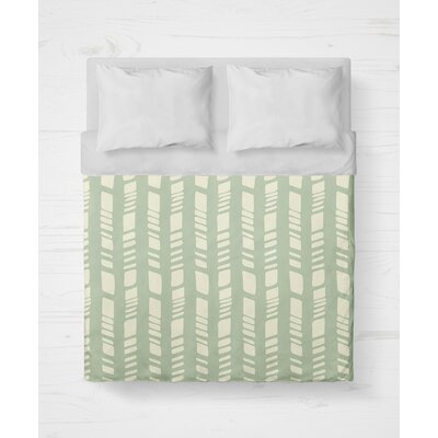 Sahara Lightweight Duvet Cover Size: King, Color: Seafoam