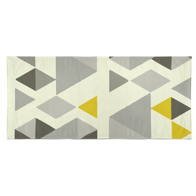 San Juan Beach Towel Color: Gray/Multi