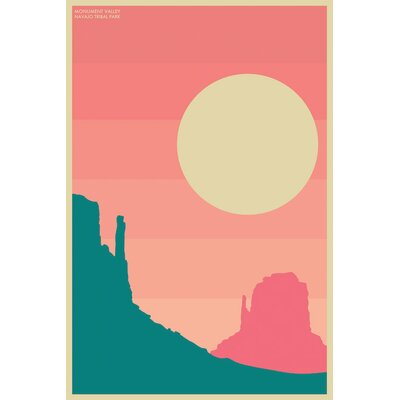 Langley Street Monument Valley' Graphic Art on Wrapped Canvas