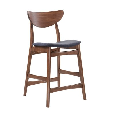 Flavius 24 Bar Stool with Cushion (Set of 2)
