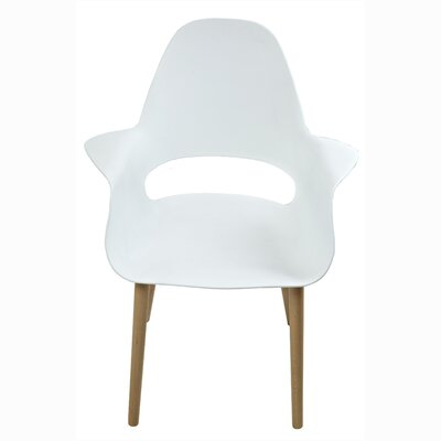 Scipio Accent Armchair Finish: White