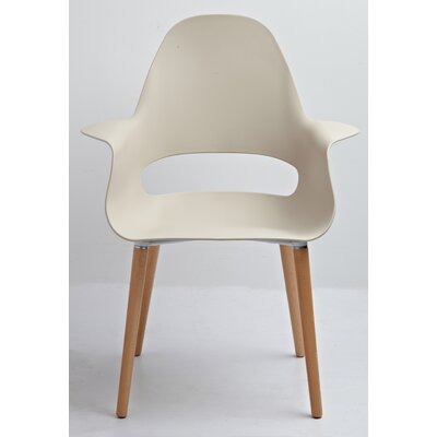 Scipio Accent Armchair Color: Beige