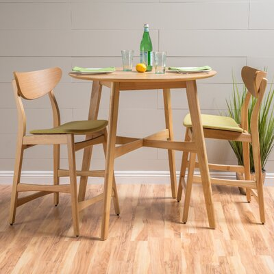 Denver Dining Set Color: Green Tea