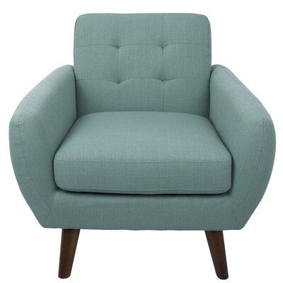 Springdale Mid-Century Modern Armchair Upholstery: Teal