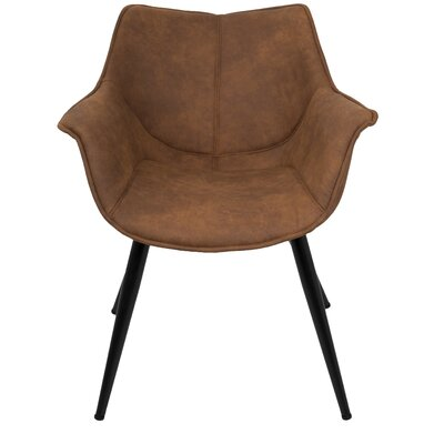Shiloh Arm Chair Upholstery: Rust