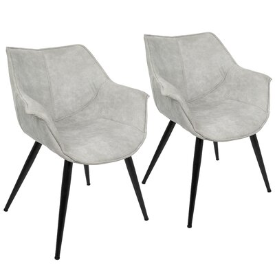 Shiloh Arm Chair Upholstery: Light Gray
