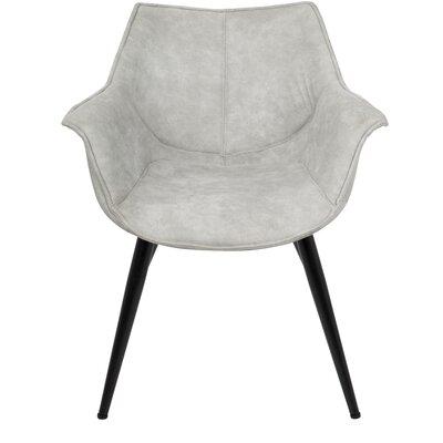 Shiloh Arm Chair Upholstery: Light Gray
