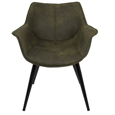 Shiloh Arm Chair Upholstery: Green
