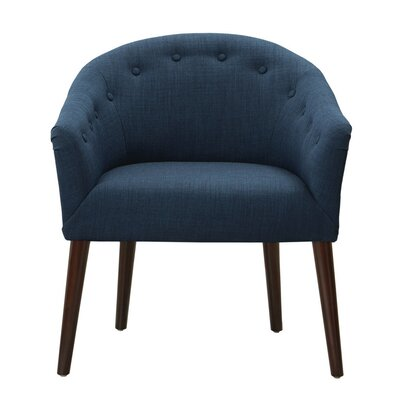 Risso Barrel Chair Upholstery: Navy
