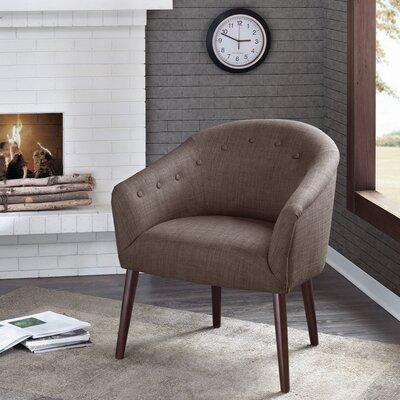 Risso Barrel Chair Upholstery: Mushroom