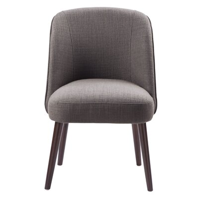 Aliso Parsons Chair Upholstery: Charcoal