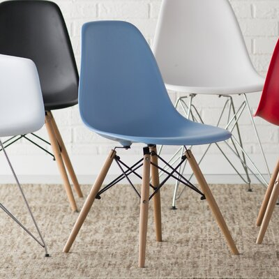 Neville Side Chairs Upholstery: Blue