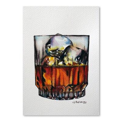 "'Scotch on the Rocks' Painting Print Size: 16"" H x 12"" W URBR8784 41547532"