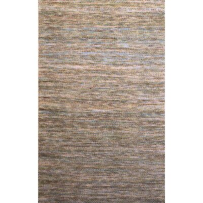 Carlane Beige/Navy Rug Rug Size: Rectangle 2 x 3