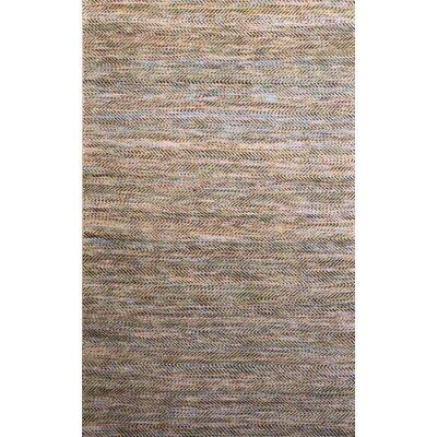 Carlane Beige/Navy Rug Rug Size: 5' x 7'6