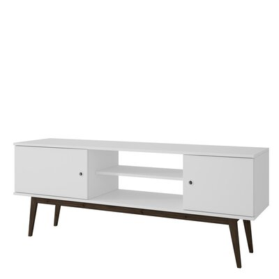 Nueva Vista TV Stand Color: White