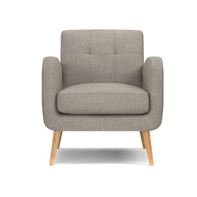 Valmy Armchair Color: Dove Gray