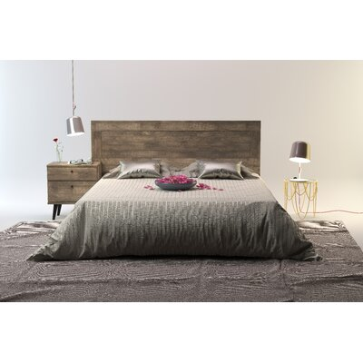 Norloti Queen Panel Headboard Finish: Distressed Brown