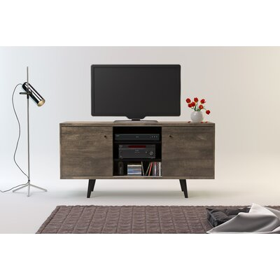 Norloti 53 TV Stand Color: Distressed Brown