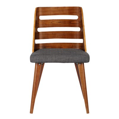 Thurman Side Chair Upholstery: Charcoal Fabric