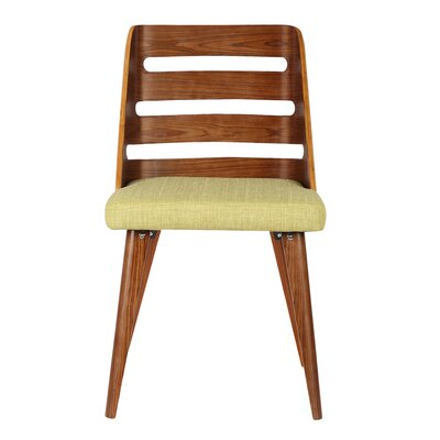 Thurman Side Chair Upholstery: Green Fabric